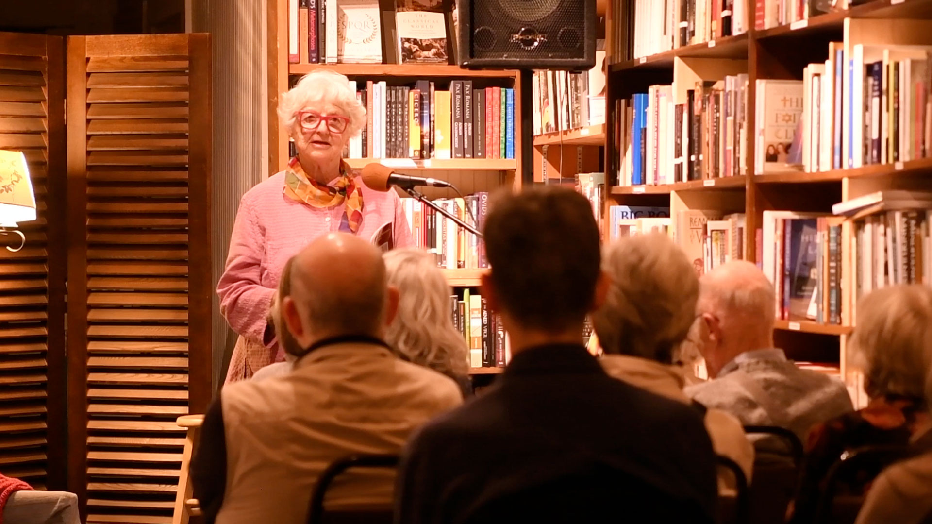 Elizabeth Elliott, Reading at The Bookstore